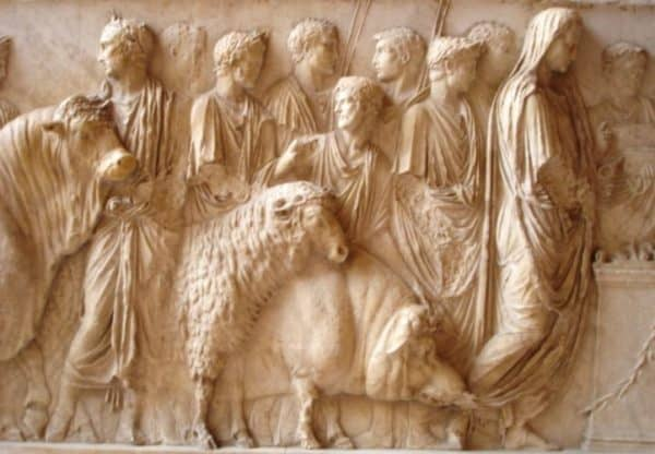 sacrificio-plegaria-Religión-Roma