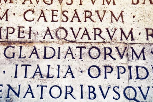 La escritura epigráfica