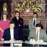 Inauguración Casa América 1992