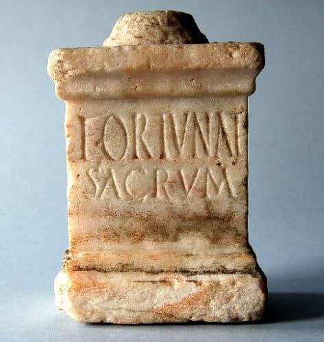 Las inscripciones votivas