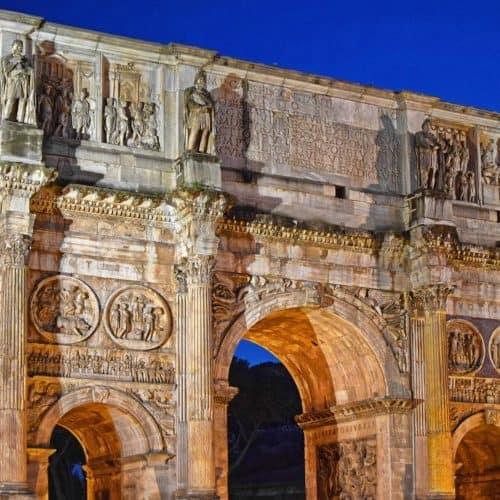 investigación epigráfica-Arco de Tito