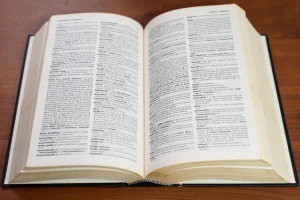 El diccionario como producto lexicográfico. Diccionarios de lengua. La enciclopedia