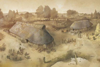 longhouses-Edad-del-Hierro