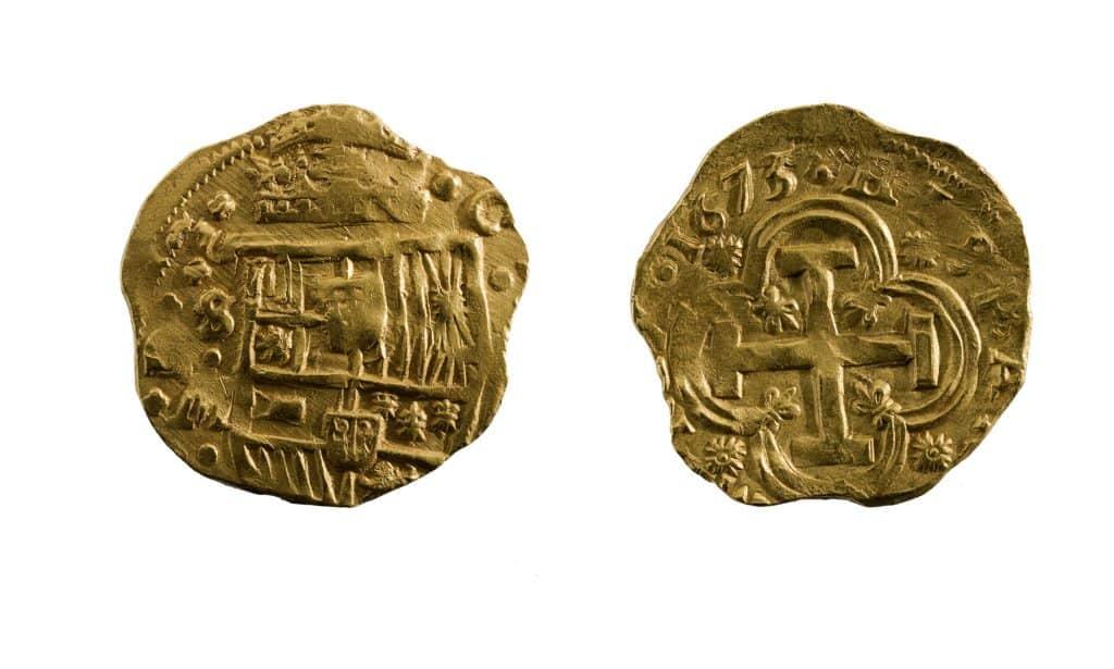Ocho escudos-moneda