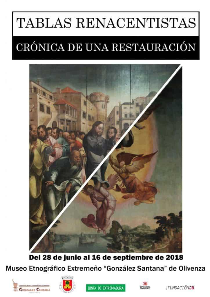"""""""Tablas Renacentistas: crónica de una restauración."""