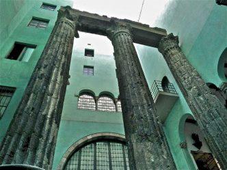 Columnas-romanas-Barcino