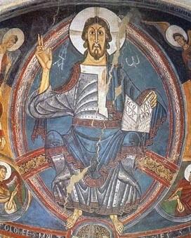 pintura mural románica-1