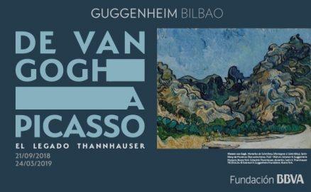 Van Gogh-Picasso- Thannhauser