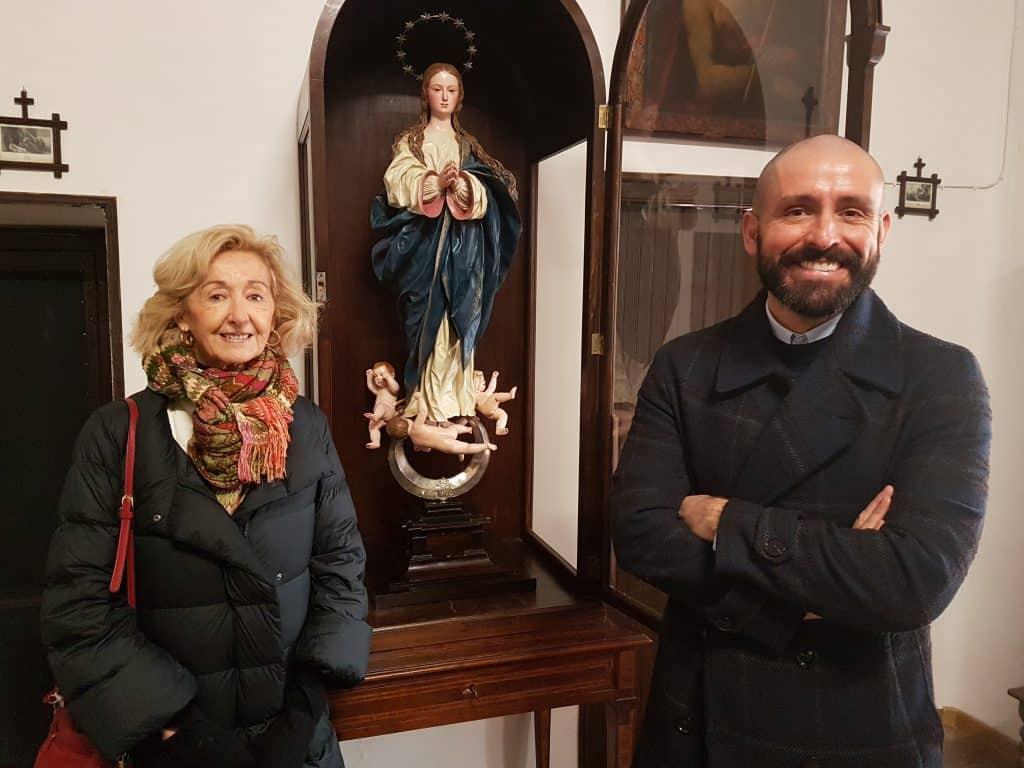 Pedro de Mena-Restauración