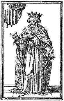 Jaime I y Bernat Desclot.
