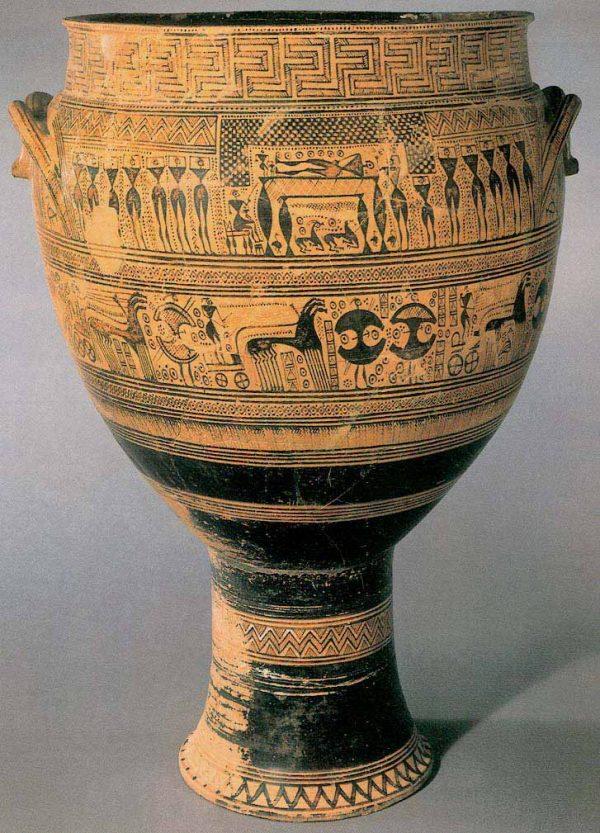 Arte griego protogeométrico y geométrico