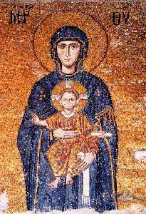 Iconografía de la virgen-Bizantino