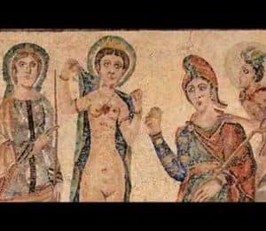 Juicio de Paris-Medieval