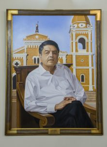 Sergio Ramírez -Retrato