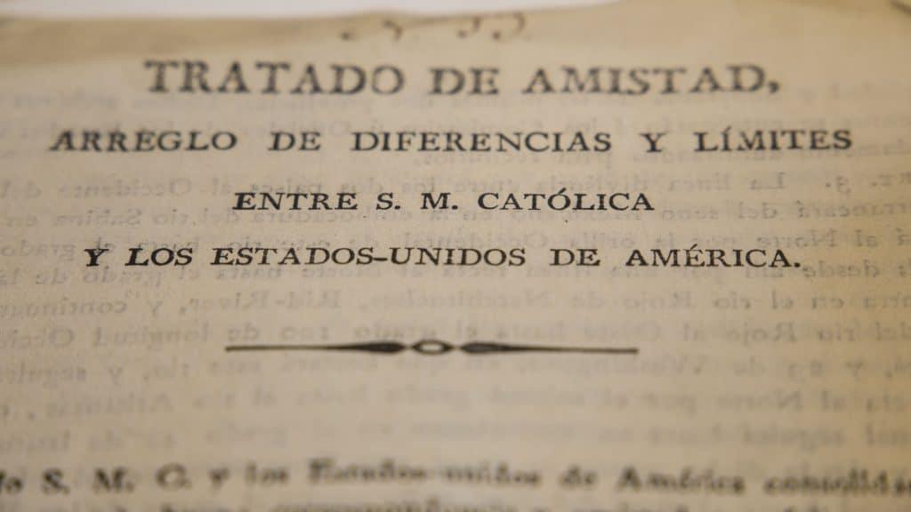 La Florida- Tratado América España
