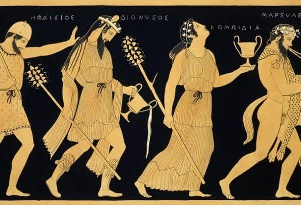Dionisio y lo dionisíaco