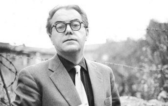El escritor suizo Max Frisch