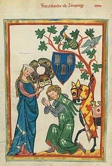 El Minnesang (la lírica medieval alemana)