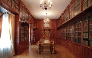 Palacio de Cervelló-Biblioteca