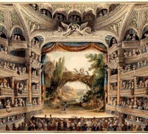 Origen del teatro profesional en Francia-Compañías,