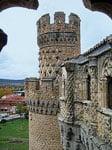 Castillo de Manzanares el Real-detalle
