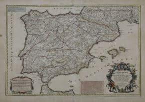 Mapa de postas de España-BNE