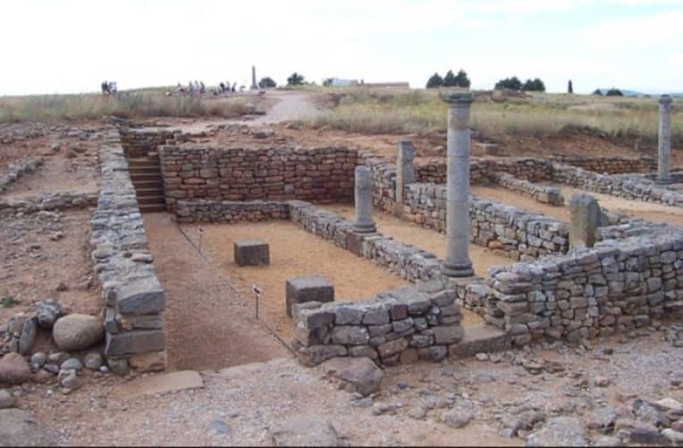Numancia-vestigios romanos