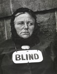 Paul Strand, Mujer ciega