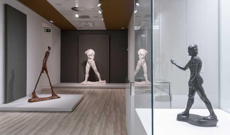 Rodin-Giacometti, Museos