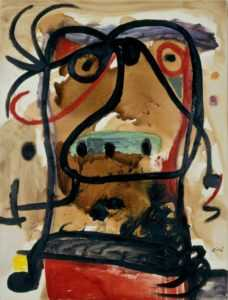 Joan Miró- Tête