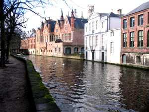 Brujas los canales-Bélgica