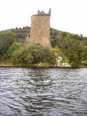 Castillo urqhuart-Lago Ness
