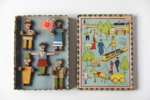 Juguetes-Colección santos lloro- juguete japonés japón, década de 1920