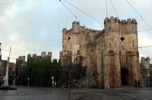 Gante castillo de los condes-