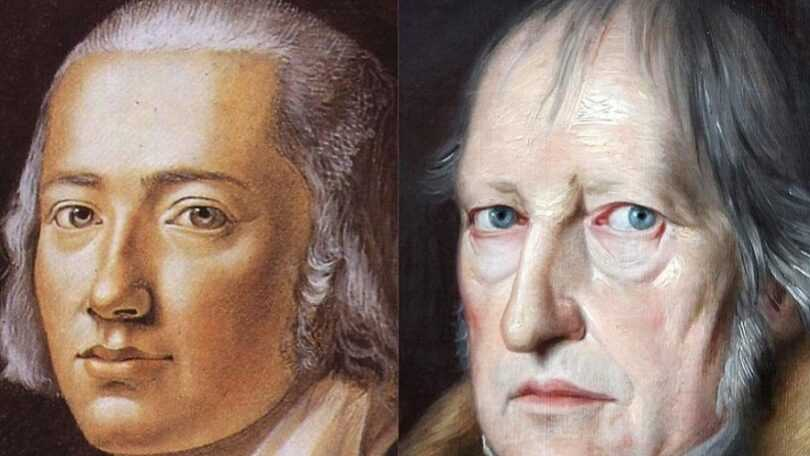Hegel y hölderlin