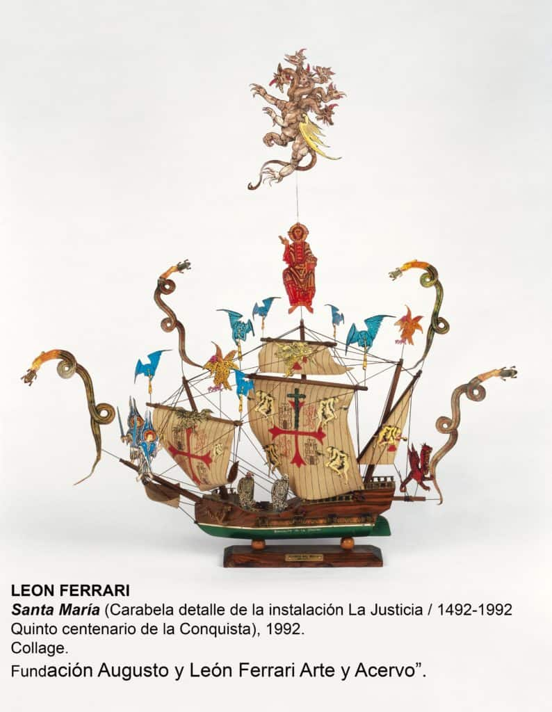 Santa María-León ferrari
