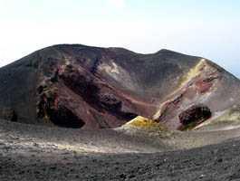 Cráter del Etna