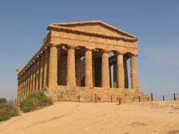 Sicilia templo de la Concordia en agrigento