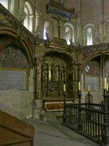 Capilla de talavera, claustro de la catedral vieja de salamanca