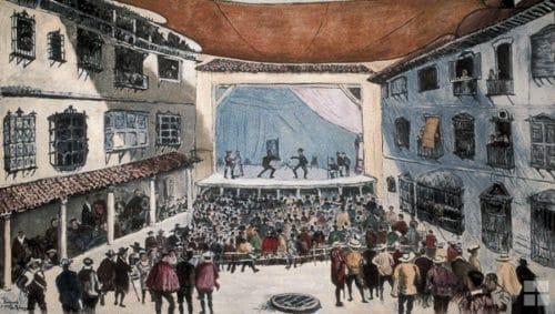 Fiesta teatral del siglo xvii