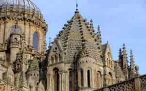 Torre del gallo-cimborrio-de-la-catedral vieja de salamanca