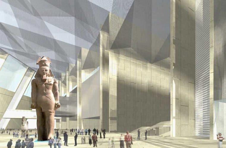 Momias al Gran museo egipcio (gem)
