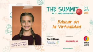 Innovación educativa-summit-simo-educacion-cartel-mesa-educar-virtualidad
