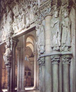 Santiago de Compostela-Portico de la gloria