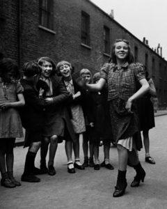Bill Brandt - East end girl dancing lambeth walk, 1939