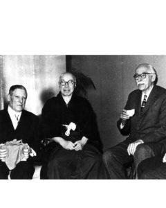 18 josep llorens artigas, hamada shoji i bernard leach, 1962