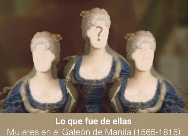 Mujeres en el galeón de manila