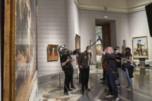 Saura en el Prado conversa con Roberto Roldán