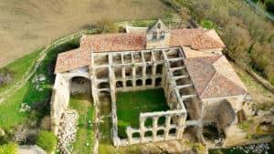 Monasterio Rio seco Valle del Manzanedo Burgos-Las piedras cantan