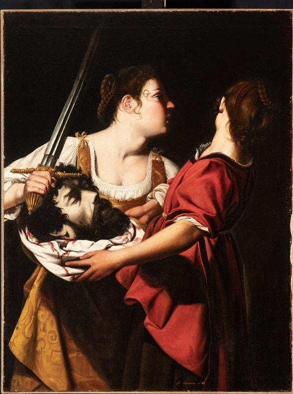 Pintura italiana -Gentileschi